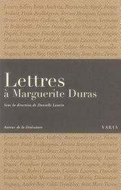 Lettres à marguerite duras - Intérieur - Format classique
