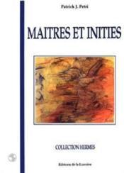 Maitres Et Inities - Couverture - Format classique