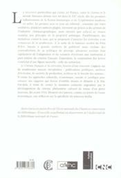 Le Cinema Francais Et Les Ecrivains. Histoire D'Une Rencontre, 1906-1 914 - 4ème de couverture - Format classique