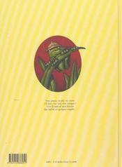 Lise la grenouille t.2 - 4ème de couverture - Format classique