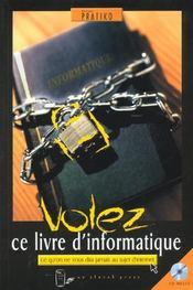 Volez Ce Livre D'Informatique - Intérieur - Format classique