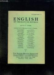 English By The Nature Method. Chapters 1 - 4. - Couverture - Format classique