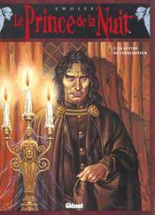Le prince de la nuit t.2 ; la lettre de l'inquisiteur - Intérieur - Format classique