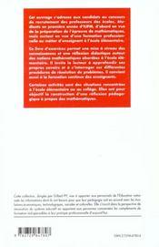 Mathematiques Preparation Au Concours De Recrutement Des Professeurs Des Ecoles Nouvelle Edition - 4ème de couverture - Format classique