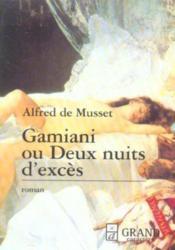 Gamiani ou deux nuits d'excès - Couverture - Format classique