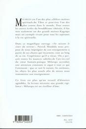 En Suivant Le Cours Du Torrent. Milarepa Chante Le Bouddhisme - 4ème de couverture - Format classique