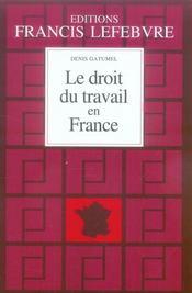 Le droit du travail en France (édition 2007/2008) - Intérieur - Format classique