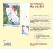 Les techniques du pastel - 4ème de couverture - Format classique