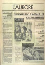Aurore (L') N°8368 du 28/07/1971 - Couverture - Format classique