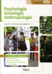 Vente livre :  UE 1.1 psychologie, sociologie, anthropologie  - Bruno Delon