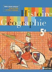 Histoire/Geographie 5eme  - Collectif