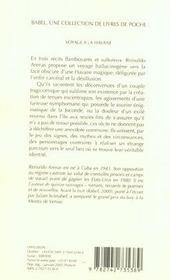 Voyage A La Havane - 4ème de couverture - Format classique