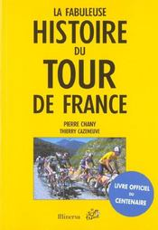 Fabuleuse histoire du tour de france (la) - Intérieur - Format classique