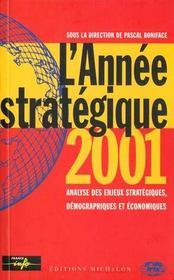 L'annee strategique 2001 - Intérieur - Format classique