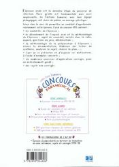 L Oral Du Concours Ifsi - 4ème de couverture - Format classique