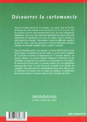 Decouvrez La Cartomancie - 4ème de couverture - Format classique