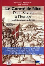 Le comté de nice : de la savoie à l'europe - Intérieur - Format classique