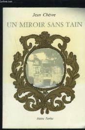 Un miroir sans tain - Couverture - Format classique
