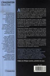 L'imagination collective - 4ème de couverture - Format classique