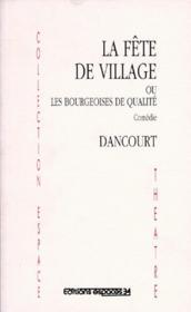 La Fete Du Village - Couverture - Format classique