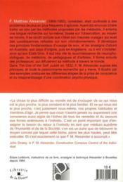 L'usage de soi (2e édition) - 4ème de couverture - Format classique
