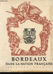 Bordeaux Dans La Nation Francaise - Couverture - Format classique