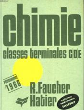 Chimie - Couverture - Format classique