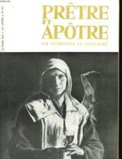 Pretre Et Apotre Vie Interieure Et Apostolat - N°497 - Couverture - Format classique
