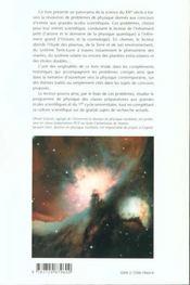 De L'Atome A L'Univers Enonces Et Corriges De Problemes Donnes Aux Concours Complements Historiques - 4ème de couverture - Format classique