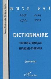 Dictionnaire tigrina-français / français-tigrina - Couverture - Format classique
