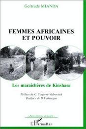 Femmes africaines et pouvoir ; les maraîchères de Kinshasa - Intérieur - Format classique
