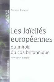 Laicites Europeennes Au Miroir Du Cas Britannique - Intérieur - Format classique