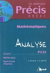 Precis analyse et geometrie pcsi - Intérieur - Format classique