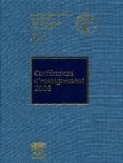 Conférences d'enseignement (édition 2006) - Couverture - Format classique