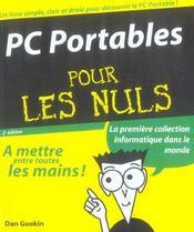 Pc Portables Pour Les Nuls - Intérieur - Format classique