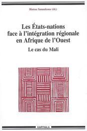 Les états-nations face à l'intégration régionale en Afrique de l'ouest ; le cas du Mali - Intérieur - Format classique