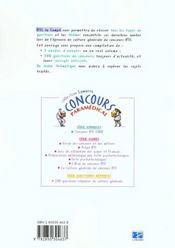 Ifsi La Compil - 500 Questions/Reponses Officielles - 4ème de couverture - Format classique