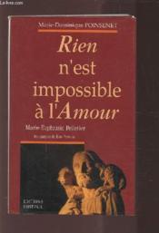 Rien N'Est Impossible A L'Amour - Couverture - Format classique