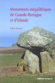 Monuments Megalithiques De Grande-Bretagne Et D'Irlande - Intérieur - Format classique