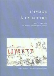 L'image a la lettre - Intérieur - Format classique