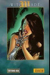 Witchblade T.5 - 4ème de couverture - Format classique