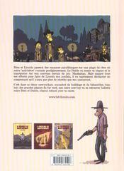 Lincoln t.3 ; playground - 4ème de couverture - Format classique