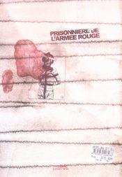 Prisonniere De L'Armee Rouge - 4ème de couverture - Format classique