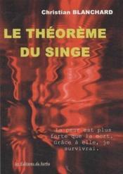 Le théorème du singe - Couverture - Format classique