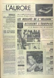 Aurore (L') N°8396 du 30/08/1971 - Couverture - Format classique