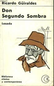 Don Segundo Sombra - Couverture - Format classique
