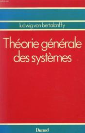 Theorie Generale Des Systemes - Couverture - Format classique