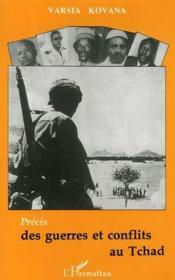 Précis des guerres et conflits au Tchad - Couverture - Format classique