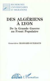 Des Algeriens A Lyon - Intérieur - Format classique