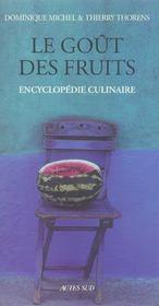 Le Gout Des Fruits - Intérieur - Format classique